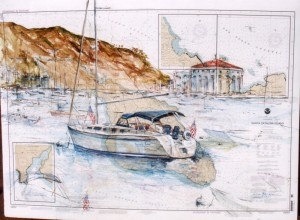 customers-boat-on-catalina-chart